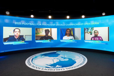 "Football for Friendship draws teams for this year's ""Football for Friendship eWorld Championship"""