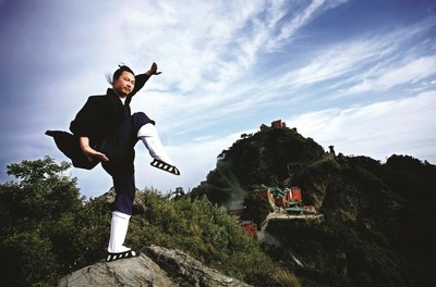 Wudang Wushu (las artes marciales de Wudang) (PRNewsfoto/The Wudang Mountains Tourism Special Economic Zone Working Committee)