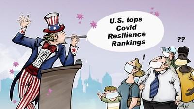 ¿Cuánto tiempo podrá vivir Estados Unidos dentro de una burbuja?/CGTN (PRNewsfoto/CGTN)