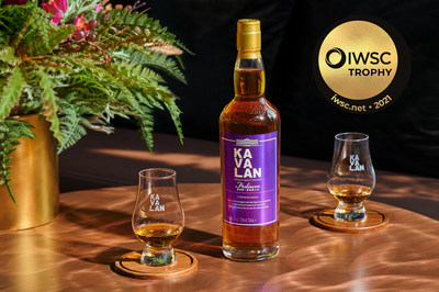 Kavalan Podium Wins 2021 IWSC Worldwide Whiskey Trophy