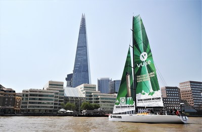 Thames voyage officially marks BAT's Vuse becoming the first global carbon neutral vape brand. This product contains nicotine and is addictive. 18+ only
