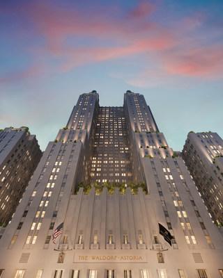 """El icónico Waldorf Astoria New York lanza el sitio web """"Waldorf Stories"""" para honrar la historia de este hotel reconocido en todo el mundo. Crédito de la foto: Noë&Associates / The Boundary"""