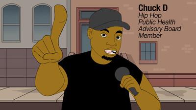 Chuck D, Hip Hop Public Health Advisory Board Member